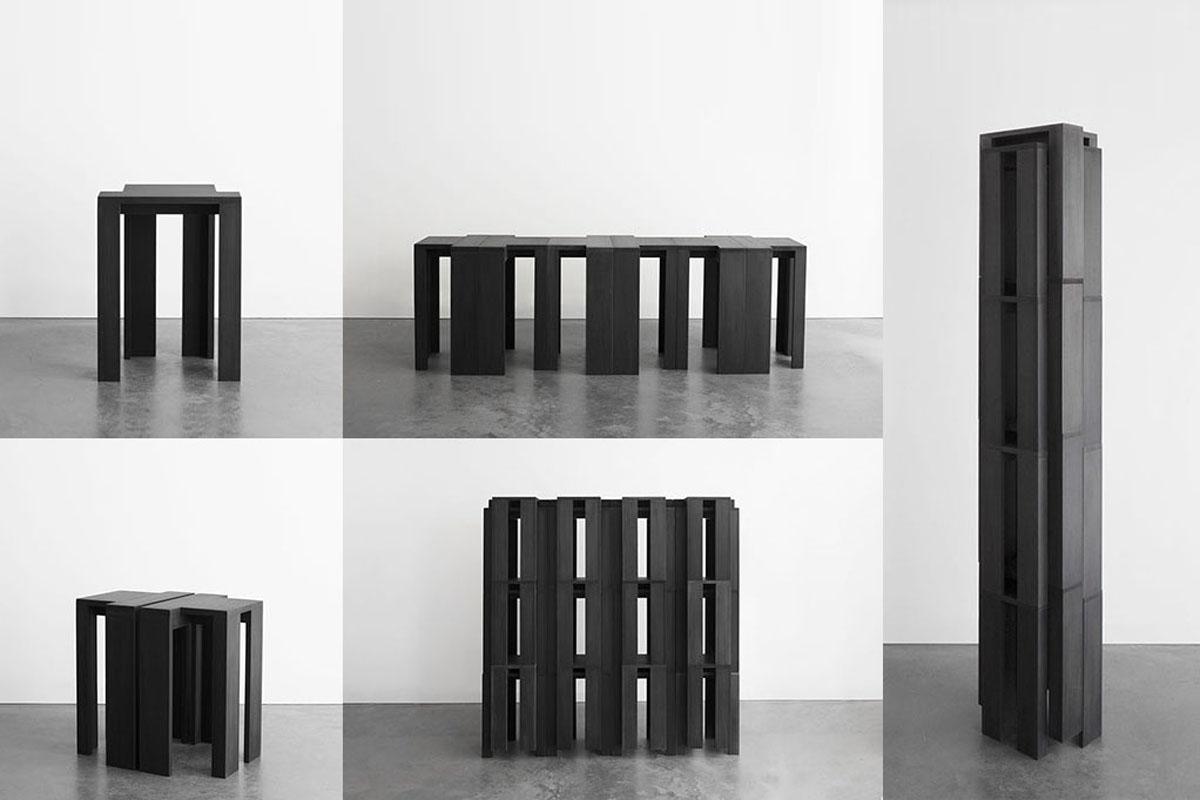 Bram Vanderbeke/Stackable stools