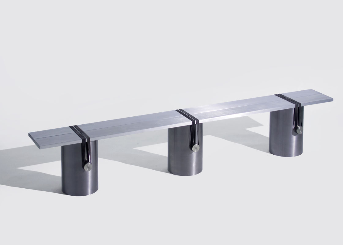 Johan Viladrich/COLLECTION RATIO RB-02 Banc Aluminium