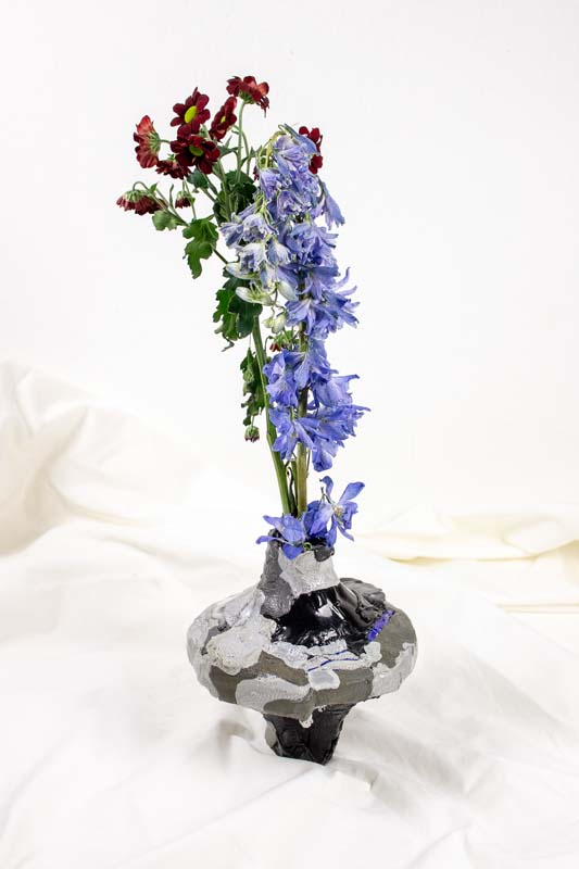 Floriane Dulurieb/Remora Silver Vase